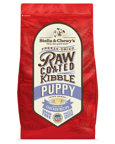 Stella & Chewy's - Cage-Free Chicken Raw Coated Kibble for Puppies Dry Dog Food (1.6kg/10kg)