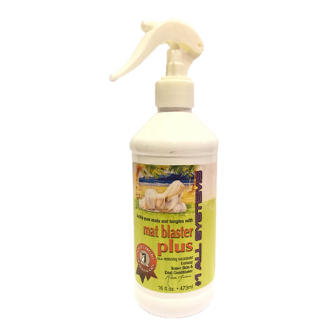 #1 ALL SYSTEMS - Mat Blaster Plus Coat Dressing Spray (16oz)