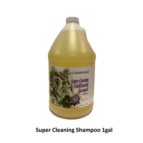 #1 ALL SYSTEMS - Super Cleaning Shampoo (16oz/1gal)