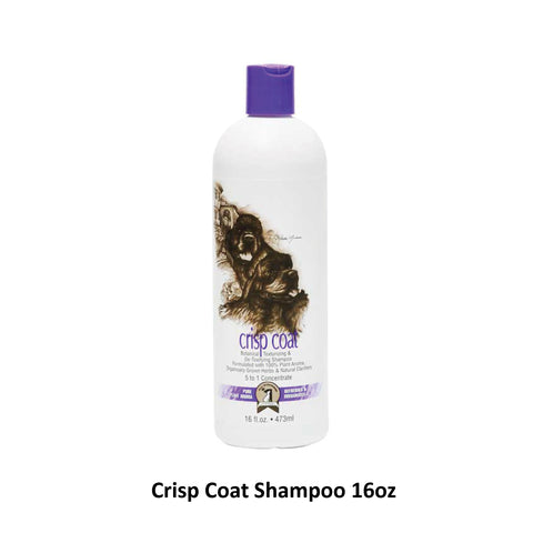 #1 ALL SYSTEMS - Crisp Coat Texturizing Dog Shampoo (16oz/1gal)