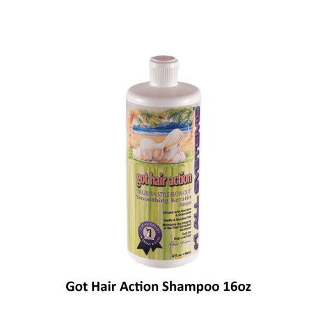 #1 ALL SYSTEMS - Got Hair Action Keratin Shampoo (32oz)