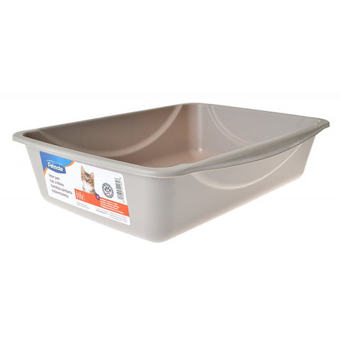 Petmate Cat Litter Pan (Grey)