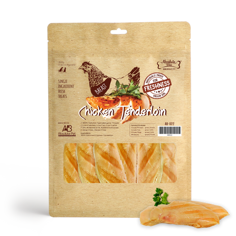 Absolute Bites Fresh Cut Chicken Tenderloin Pet Treats (360g)
