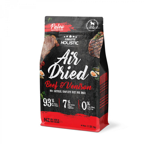 Absolute Holistic Air Dried - Beef & Venison (1kg)