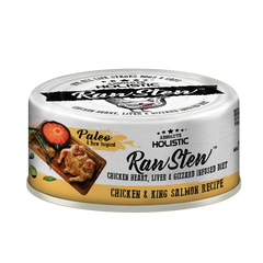 Absolute Holistic Rawstew Dog & Cat Canned Food - Chicken & King Salmon