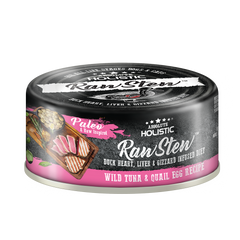 Absolute Holistic Rawstew Dog & Cat Canned Food - Wild Tuna & Quail Egg