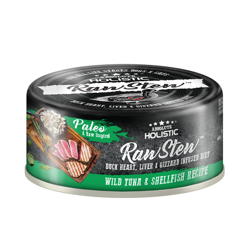Absolute Holistic Rawstew Dog & Cat Canned Food - Wild Tuna & Shellfish