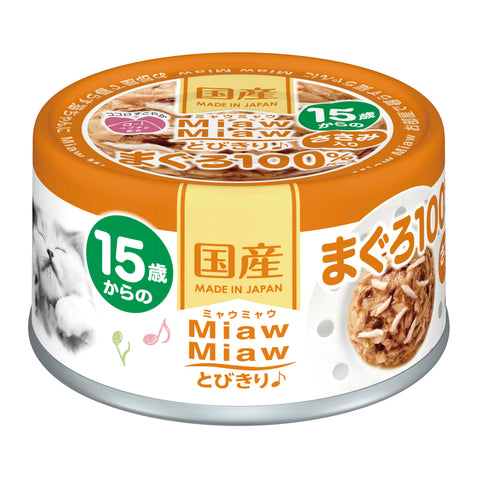 Aixia Miaw Miaw >15yrs - Tuna With Chicken Fillet (60g)