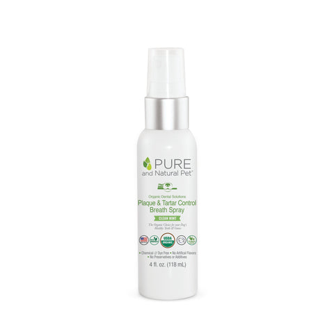 Pure and Natural Pet - Plaque & Tartar Fighting Spray (59ml)