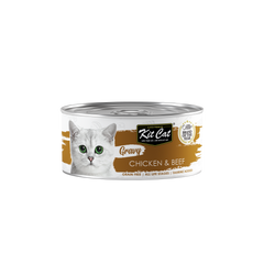 Kit Cat Gravy Chicken & Beef Cat Canned Food (70g)