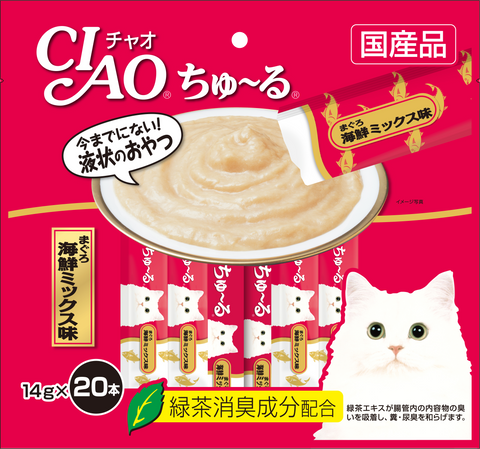 Ciao Churu 20p White Meat Tuna Cat Treats - 14g x 20