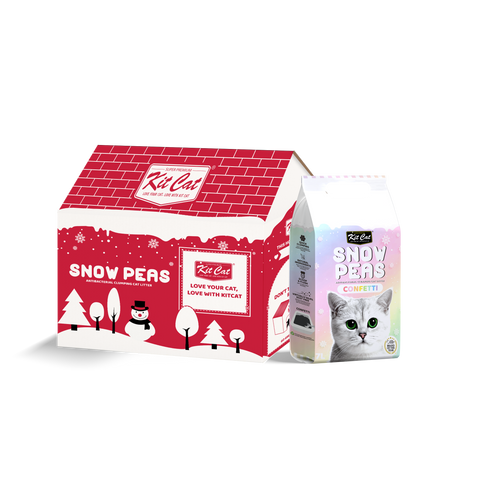 Kit Cat Snow Peas Cat Litter (7L) - Confetti