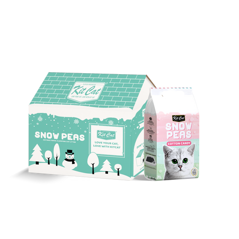 Kit Cat Snow Peas Cat Litter (7L) - Cotton Candy