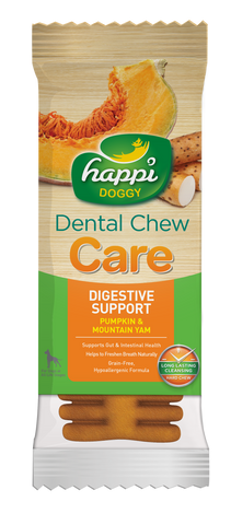 Happi Doggy Dental Chew Care (Digestive Support) - 4 inch