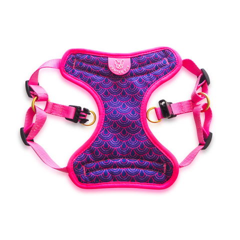 Gentle Pup Dog Harness - Piper Pink (3 sizes)