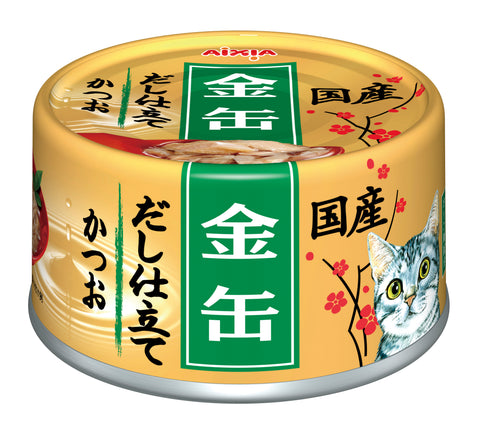 Aixia Kin-can Dashi - Skipjack Tuna in Skipjack Sauce (70g)
