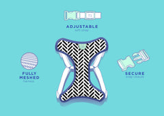 Gentle Pup Dog Harness - Dashing Diamond (3 sizes)
