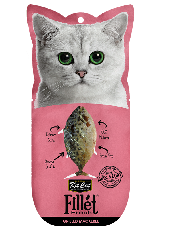 Kit Cat Fillet Fresh - Grilled Mackerel (30g)