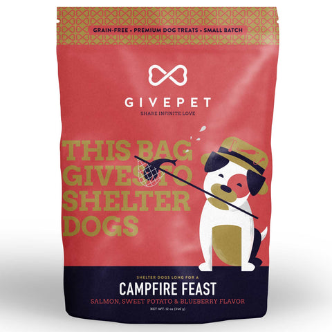 GivePet Dry Dog Treat - Campfire Feast (340g)