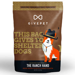 GivePet Dry Dog Treat - The Ranch Hand (340g)