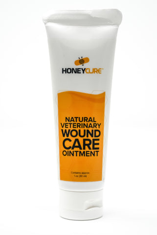 HoneyCure Natural Veterinary Wound Care Ointment (30ml)