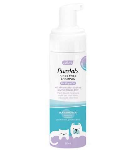 Cature Waterless Shampoo for Dogs & Cats (150ml)