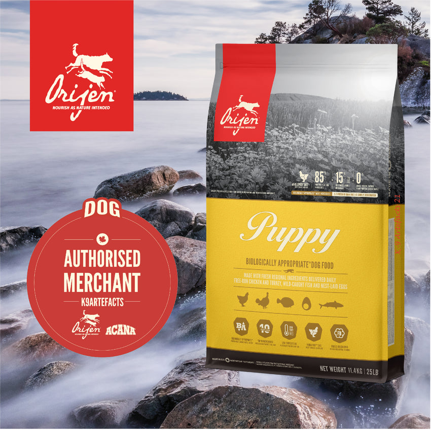 ORIJEN Puppy - Dog Dry Food (2kg/6kg/11.4kg)