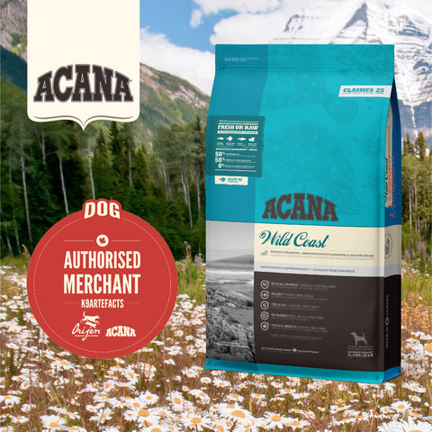 ACANA Classics - Wild Coast Dog Dry Food (2kg/11.4kg)