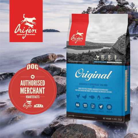 ORIJEN Original - Dog Dry Food (2kg/6kg/11.4kg)