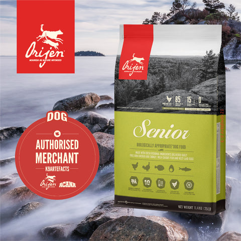 ORIJEN Senior - Dog Dry Food (2kg/6kg/11.4kg)