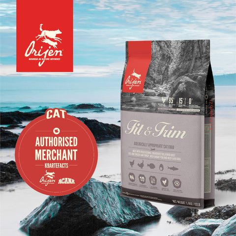 ORIJEN Fit & Trim Fish - Dry Cat Food (1.8kg/5.4kg)