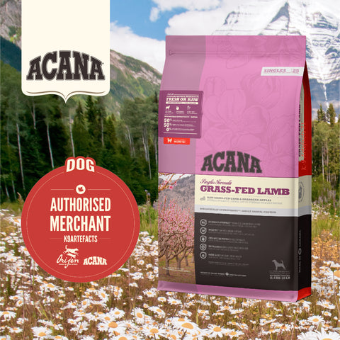 ACANA Singles - Grass-Fed Lamb Dog Dry Food (2kg/6kg/11.4kg)