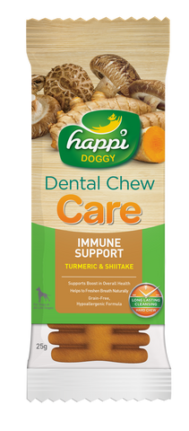 Happi Doggy Dental Chew Care (Immune Support) - 4 inch