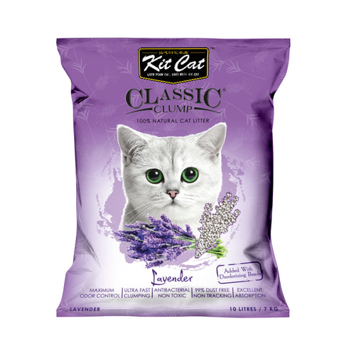 Kit Cat Classic Clump Cat Litter (10L/7kg) - Lavender