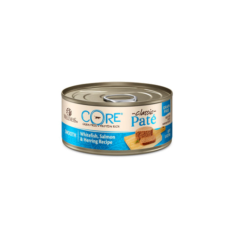 Wellness Core Classic Paté Cat Canned Food - Salmon, Whitefish & Herring (156g)