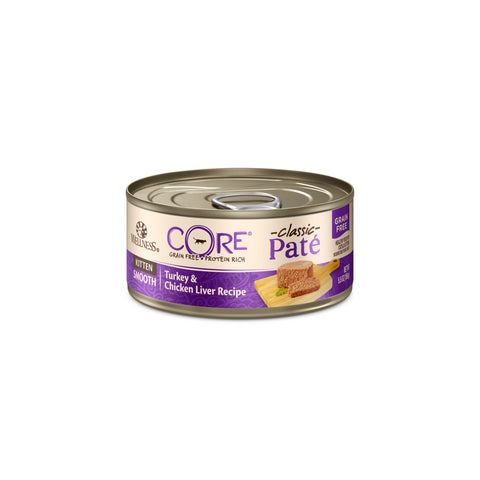 Wellness Core Classic Paté Cat Canned Food - Kitten (Turkey & Chicken Liver) 156g