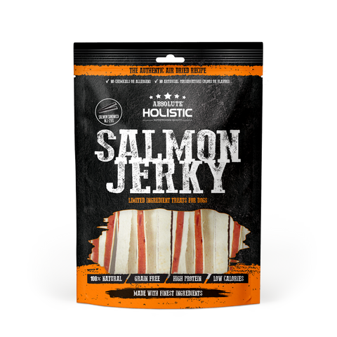 Absolute Holistic Grain-Free Salmon & Whitefish Sandwich Jerky Dog Treat (100g)
