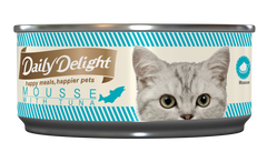 Daily Delight Mousse with Tuna Canned Cat Food (80g)