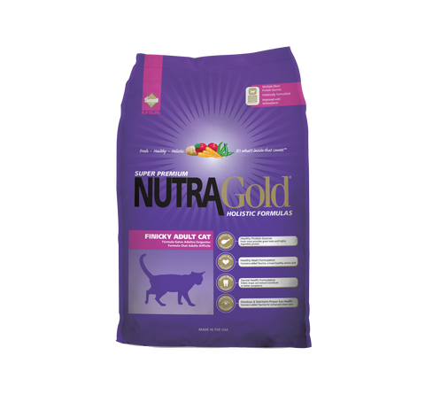 NutraGold Holistic Finicky Adult Cat Dry Food (3kg/7.5kg)