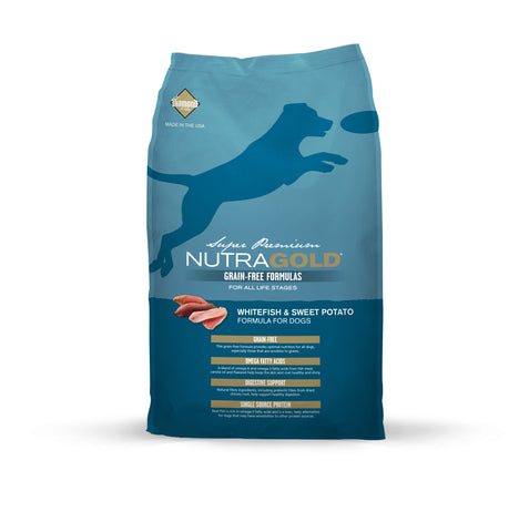 NutraGold Grain Free WhiteFish & Sweet Potato (2.25kg/13.6kg)