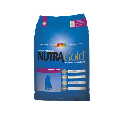NutraGold Holistic Indoor Kitten Cat Dry Food (3kg)