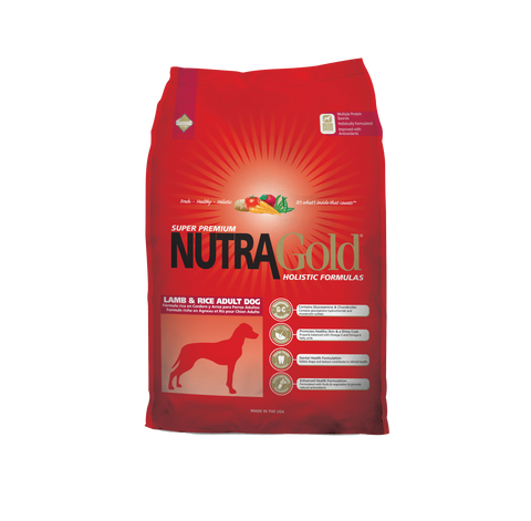 NutraGold Holistic Lamb & Potato Adult Dog Dry Food (2.5kg/15kg)