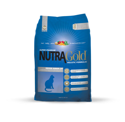 NutraGold Holistic Indoor Senior Cat Dry Food (3kg)