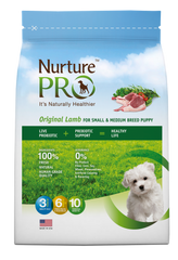 Nurture Pro Original Lamb For Small & Medium Breed Puppy (3 sizes)