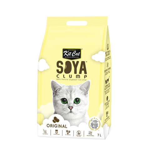 Kit Cat Soya Clump Cat Litter (7L) - Original