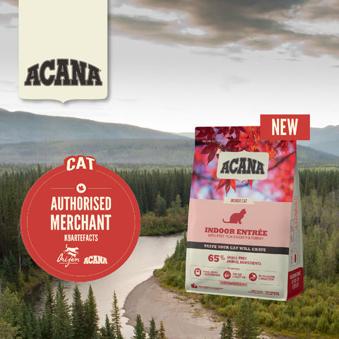 ACANA Classics - Indoor Entrée Cat Dry Food (1.8kg/4.5kg)