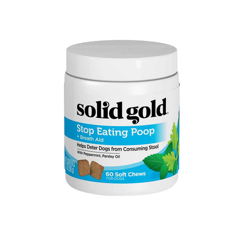 Solid Gold Stop Eating Poop Soft Chews (60 chews)