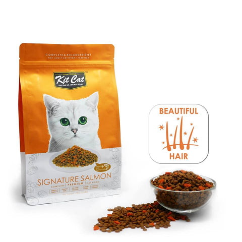 Kit Cat Premium Cat Food - Signature Salmon (2 sizes)