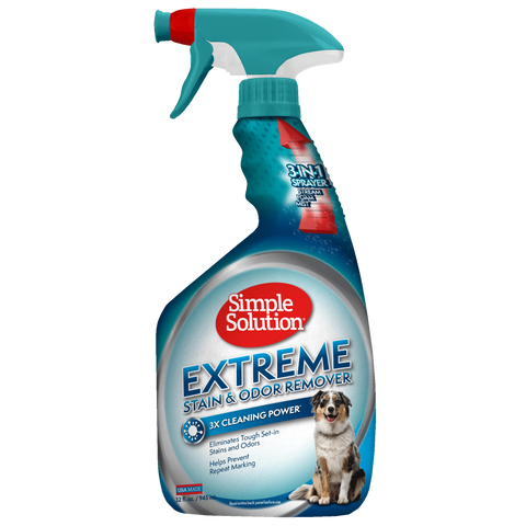 Simple Solution Extreme Stain & Odour Remover for Dogs (945ml/3.75l)