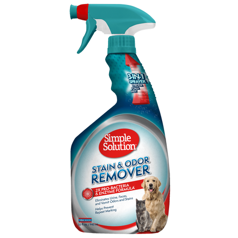 Simple Solution Extreme Stain & Odour Remover for Dogs & Cats (945ml/3.75l)